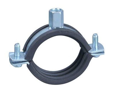 Heavy Pipe Clamp With Rubber