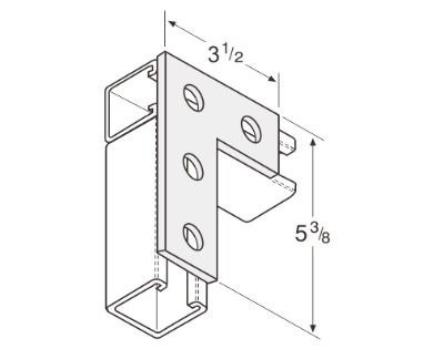 4 Hole Corner Joiner Plate L1014