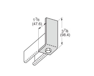 1 Hole Corner Angle L1101