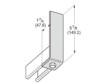 1 Hole Corner Angle L1102
