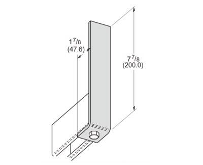 1 Hole Corner Angle L1103