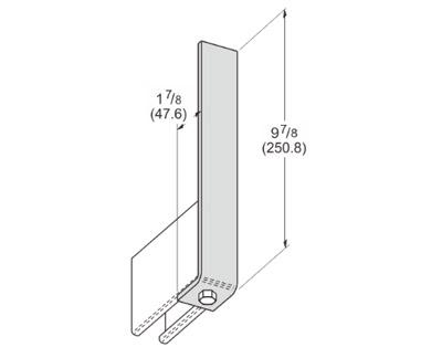 1 Hole Corner Angle L1104