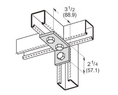 3 Hole Corner Angle L1111