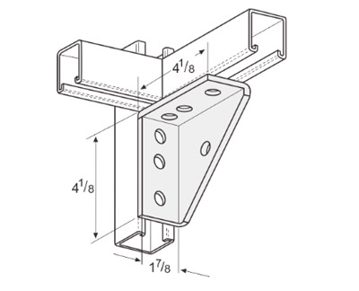 Universal Shelf Bracket L1119