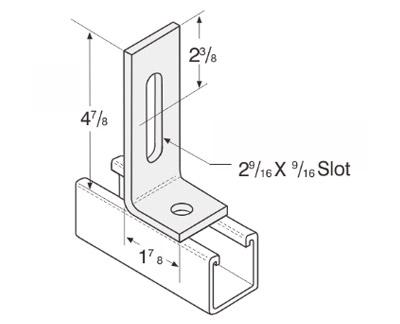 2 Hole Adjustable Corner Angle L1138