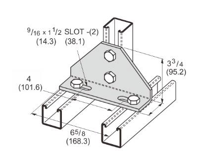 4 Hole Adjustable Corner Angle L1142