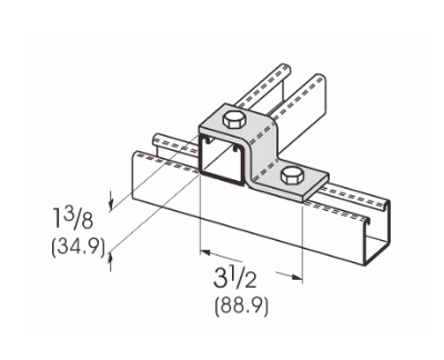 2 Hole Z-Support L1204