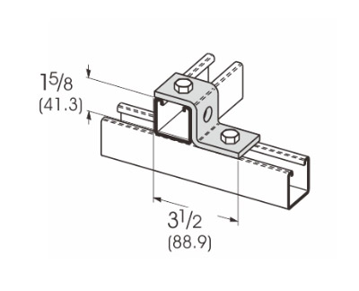 2 Hole Z-Support L1206