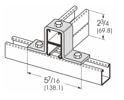 3 Hole Gussetted Corner Connection L1314