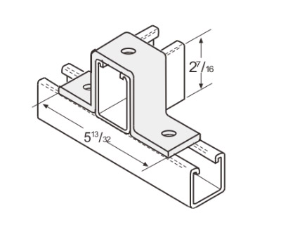 3 Hole U-Support L1315