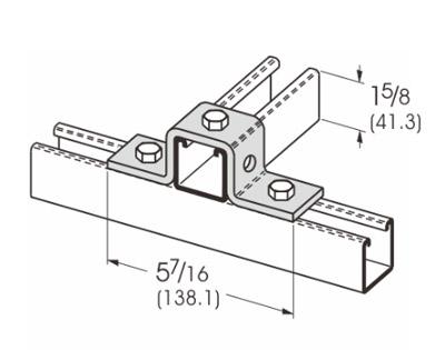 5 Hole U-Support L1316