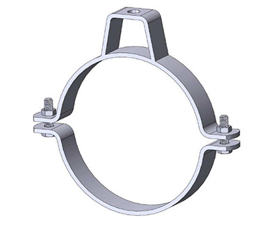 Medium Duty Two Piece Pipe Clamps